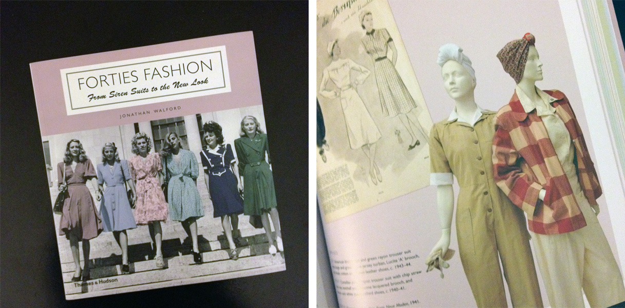 Book Review Forties Fashion Atomic Redhead
