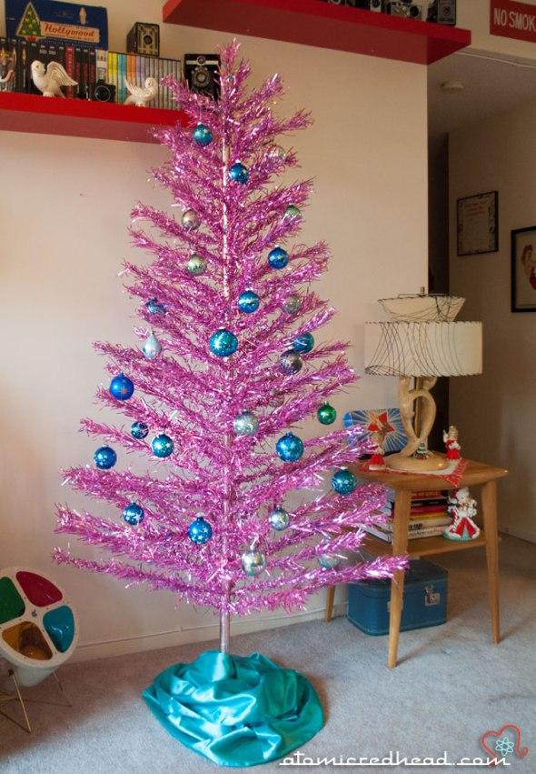 aluminum Christmas tree | Atomic Redhead