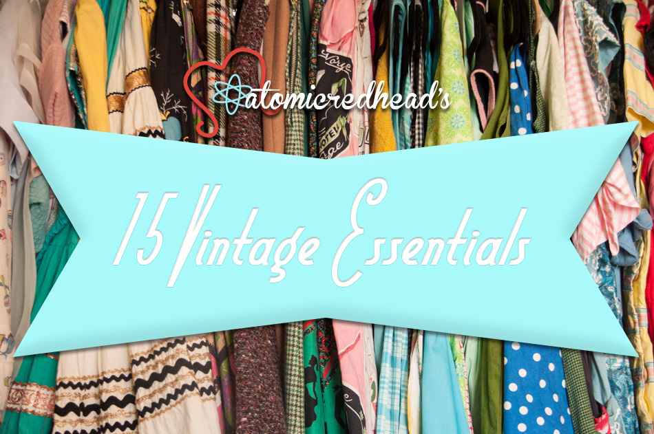 vintage wardrobe essentials 2