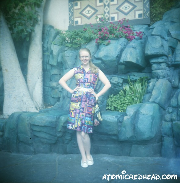 Tiki Dress in Adventure Land