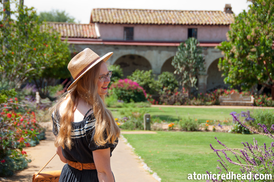 Founded November 1, 1776, Mission San Juan Capistrano Is Large, And Lush,  Featuring A Church, Housing, Plaza And Patio, As Well As Lush Garden, ...